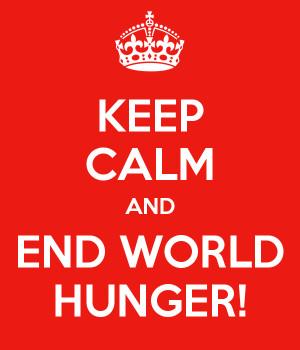 Go Back > Gallery For > Stop World Hunger Poster