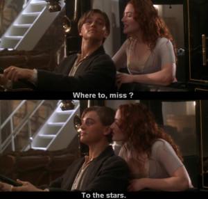 cute, love, movie, quote, scene, titanic