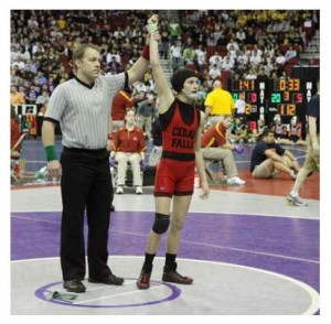 ... Forfeits Match Against a Girl, In Iowa State Tournament on Principle
