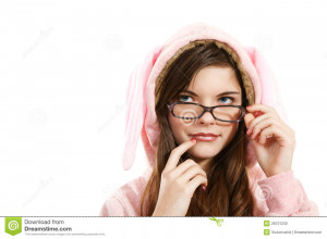 Bikini Girl Wearing Glasses