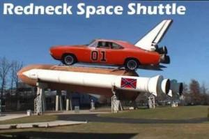 Redneck space shuttle