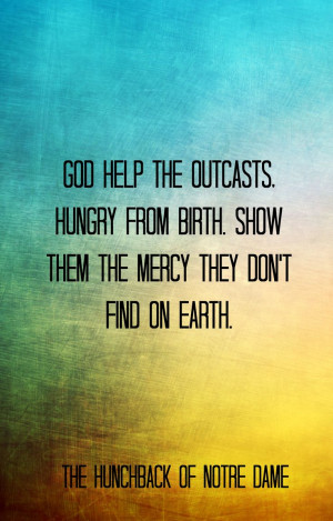 The Hunchback of Notre Dame quotes, Disney wisdom
