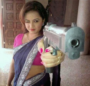 Funny Indian Women Picture