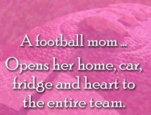 Football mom! This couldn't be more true right now. My home has become ...