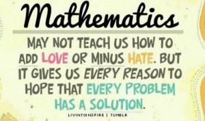 Mathematics: Classroom Quotes, Math Problems, Math Teacher, Schools ...