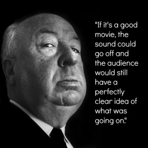 Film Director Quote - Alfred Hitchcock - Movie Director Quote # ...
