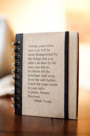 Mark Twain said...