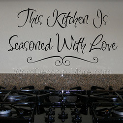 inspirational wall quotes for kitchens