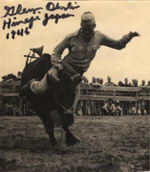 Legendary cowboy singer Glenn Ohrlin, 1946