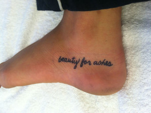 Bible Verse Tattoos On Foot Foot bible quote tattoos