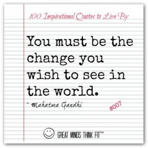 Mahatma Gandhi Quote #007