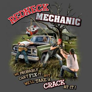 Home Mens T-Shirts Redneck Series Redneck Mechanic