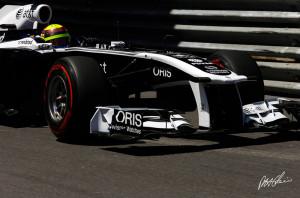 Pastor Maldonado, Monaco GP 2011