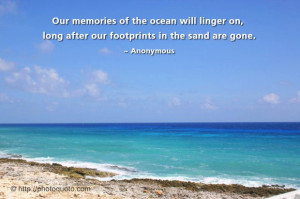 ... quotes 4433 views ecological footprint footprints in the sand