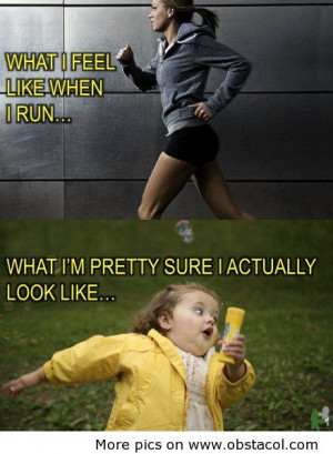 Running Quotes Funny I think i might try and run
