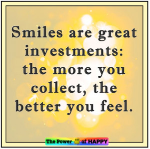 Smiles are great investments...