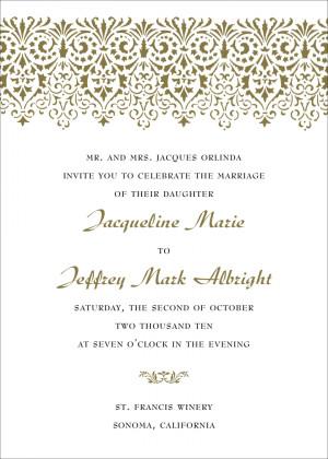 Photos of the How to Create Unique Wedding Invitation Wording