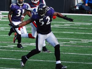 Baltimore Ravens Linebacker Ray...