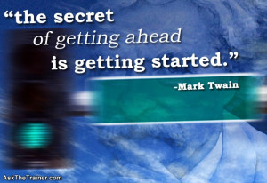Motivational Quotes - Mark Twain