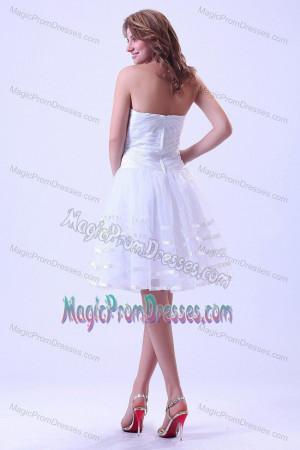 50s Style Swing Dress White