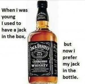 Jack Daniels and Coke! :)