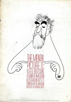 Al Hirschfeld Self Portrait
