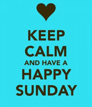 KEEP CALM SUNDAY