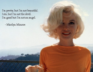 actress, beautiful, best quote ever, blonde, marilyn monroe, model ...