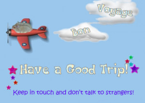 Bon Voyage Quotes Funny Bon voyage, pamela!