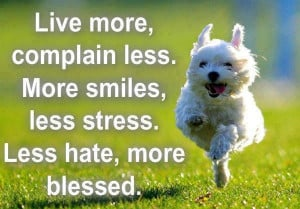 ... , complain less, more Smiles, less stress | Good thoughts wallpapers