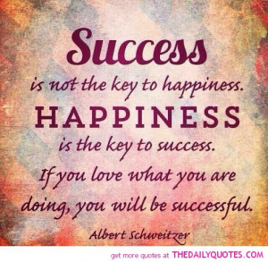 Famous Quotes About Success And Happiness Famous people quotes