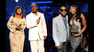 Usher, Jennifer Hudson