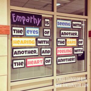 Empathy Quote Bulletin Board