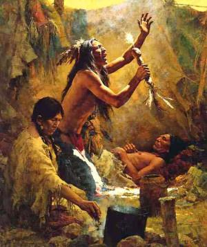 Native American Medicine Men