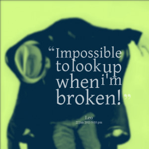 im broken quotes