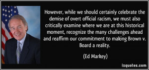 More Ed Markey Quotes
