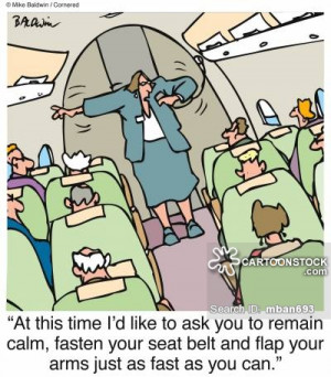 fear of flying cartoons, fear of flying cartoon, funny, fear of flying ...