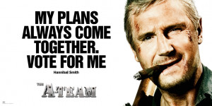 end quote hannible in the a team