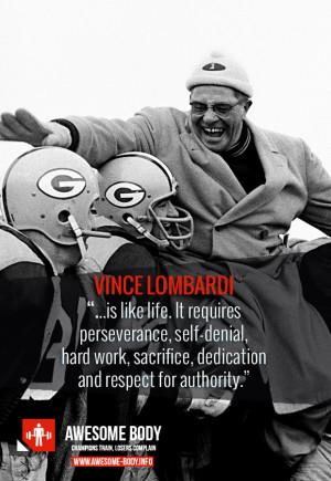 leaders aren t born vince lombardi