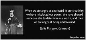 More Julia Margaret Cameron Quotes