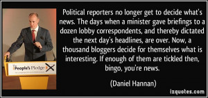 More Daniel Hannan Quotes