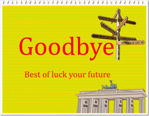 Good Bye And Good Luck Images Goodbye