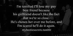 bestie secrets, secret, confession, guy best friend, terrified, lose ...