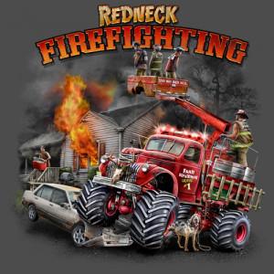 Home Mens T-Shirts Redneck Series Redneck Fire