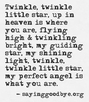 Babyloss #Miscarriage #Stillbirth #Star #Twinkle #Heaven by whizz