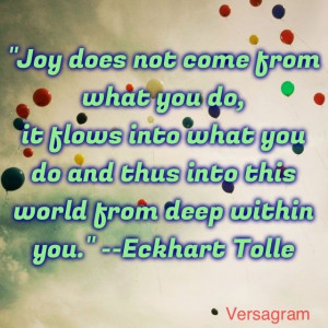 eckhart tolle quotes | Eckhart Tolle Quote, A New Earth | The arTiSt