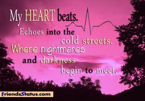 nightmare quotes tumblr status