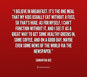 Breakfast Quotes