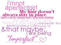 Perfect Imperfection Quotes: Imperfection imperfections quote quotes ...