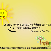 sunshine quotes photo: A-Day-Without-Sunshine-Quote-Profiletree_png A ...